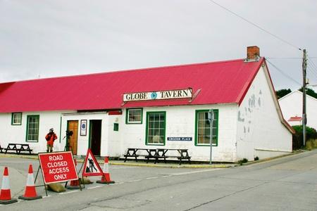 falkland: GlobeTavern in Port Stanley, Falkland Islands. Tipically British pub.