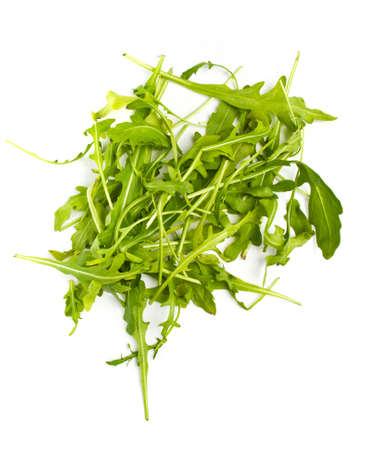 ruccola: Heap of ruccola leaves