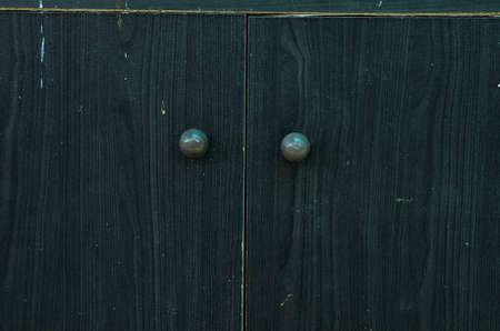 Wooden closet background photo
