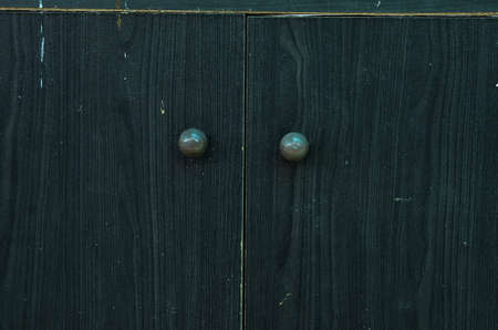 Wooden closet background photo