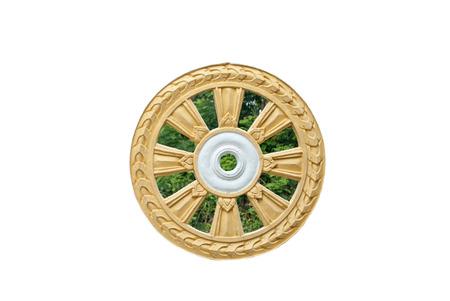 dhamma: ruota del dhamma di buddismo
