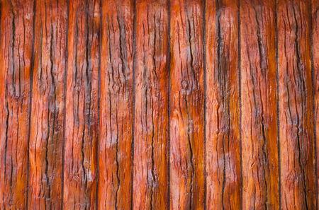stucco: Traditional wood-style stucco Stock Photo