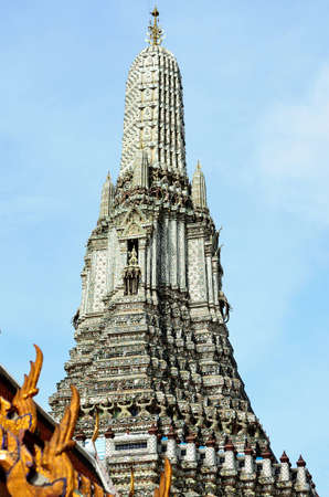wat arun: wat arun bangkok thailand Stock Photo