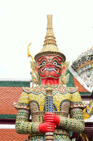 Statue at the Grand Palace photo