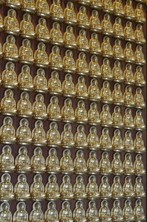 Pattern of gold chinese buddha photo