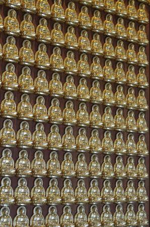 Pattern of gold chinese buddha Stock Photo - 16082048
