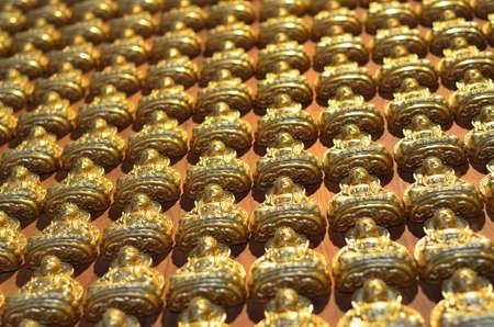 Pattern of gold chinese buddha Stock Photo - 16082105