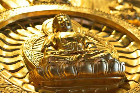 Pattern of gold chinese buddha Stock Photo - 16082061