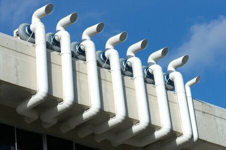 aeration: ventilation system for laboratory on the roof