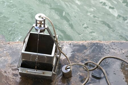 spectrometry: Grab Sampler is an instrument to sample sediment in water environments.