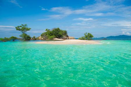 Little Island in the ocean