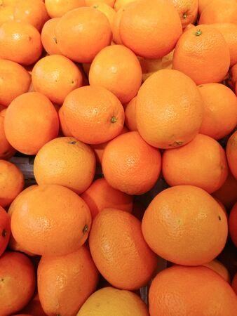 Fresh mandarin oranges for background