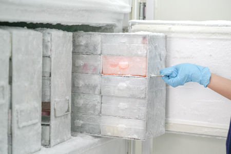 Keep isolated pathogen in ultra low temperature in the Laboratory freezer.