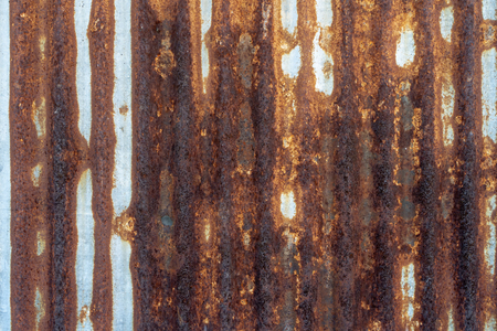 Old galvanized sheet texture for the background.