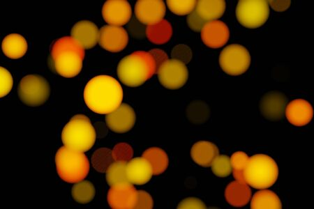 3D rendering Abstract blur bokeh, bokeh light, bokeh background. Stockfoto