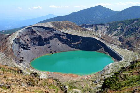 goshiki: A crater lake
