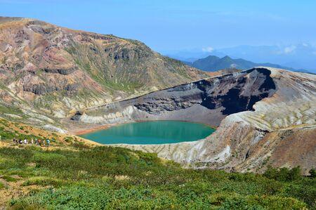 crater lake: crater lake Stock Photo