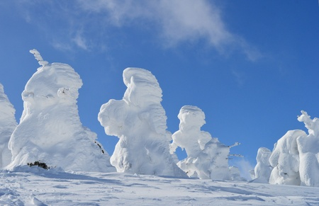 snow monsters