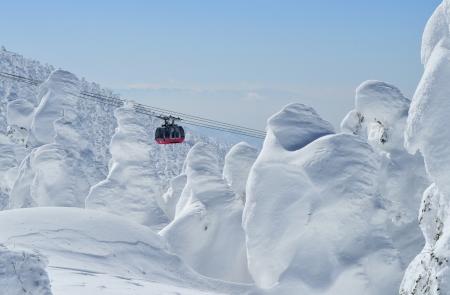 雪のモンスター