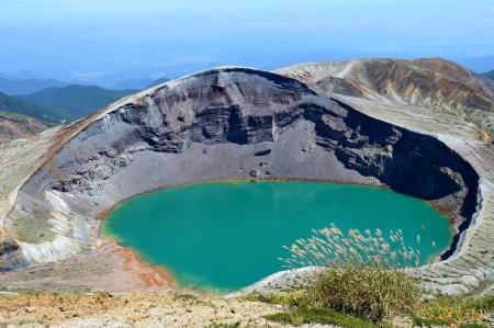 goshiki: crater lake Stock Photo