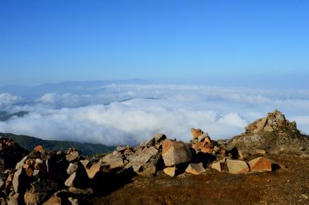 a sea of clouds 版權商用圖片
