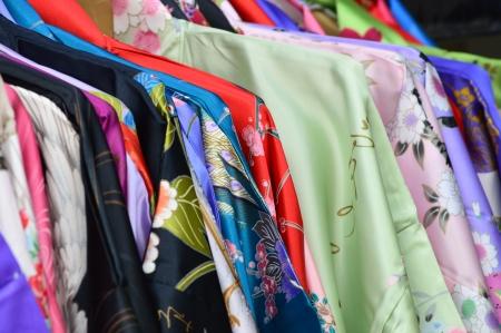 日本の着物 写真素材