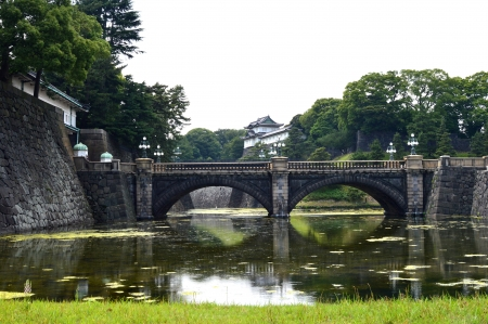 Tokyo Imperial Palace Stock Photo