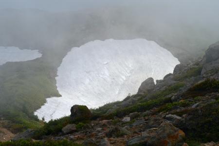 remaining snow
