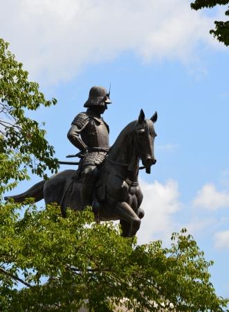 Equestrian statue of Masamune
