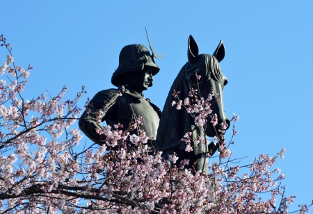 warlords: Equestrian statue of Date Masamune