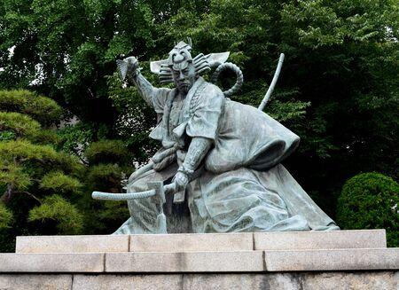 市川團十郎の銅像