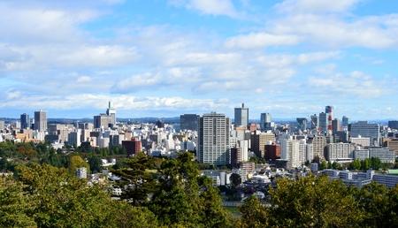 仙台市内の通り
