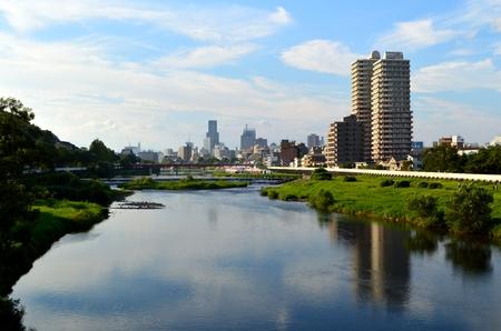 仙台市、広瀬川