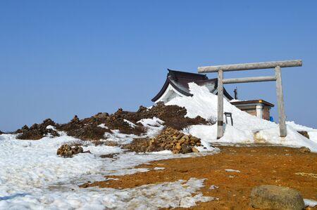 mountaintop: Mountaintop shrine
