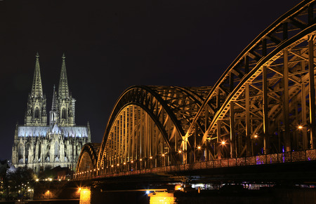 Cathedral and Hohenzollern Bridge - CologneKöln, Germany