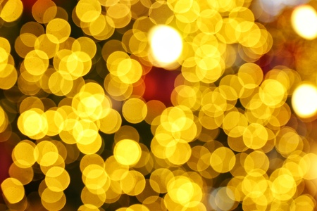 abstract defocused blurred bokeh gold background, Christmas