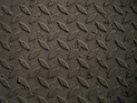 bumped: A diamond plate bumped metal texture Stock Photo