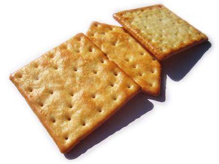 salty cracker biscuit
