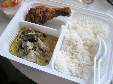 bento: thai food in a bento lunch box