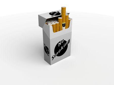 un pacchetto di sigarette Archivio Fotografico - 3196711