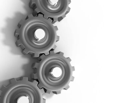 Gears of the some mechanism photo