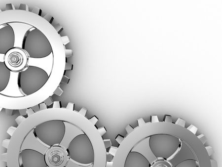 Gears of the some mechanism...