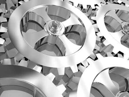 energy work: Gears of the some mechanism...