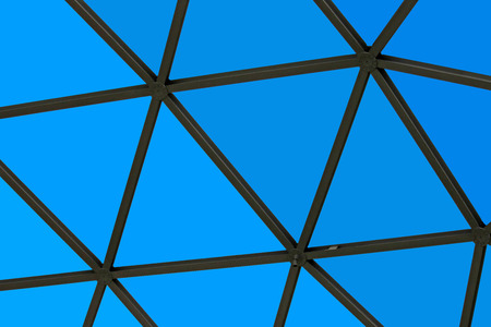 roof structure: geodesic  dome roof structure, texture and background