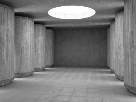 concrete hall Stock Photo - 8984305
