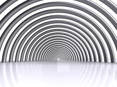 abstract tunnel photo