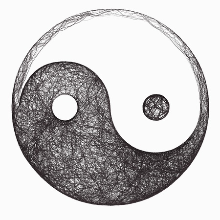 yin yang symbol photo