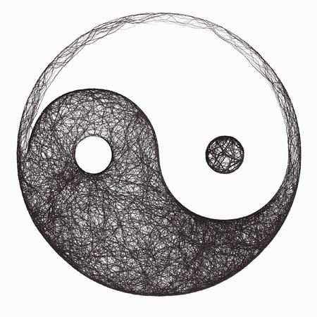 yan yang: yin yang symbol