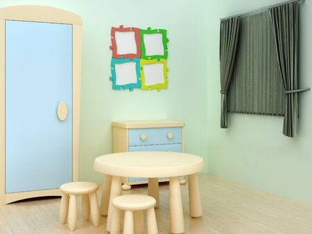 kid room photo