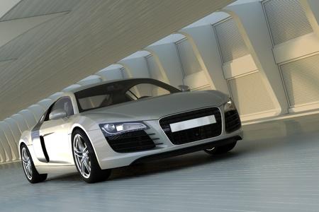 sport car Standard-Bild